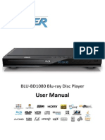 LASER BLU-BD1080 Blu-ray Disc Player User Manual (English)