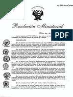 Norma de Zinc RM935-2014