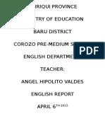 report 1