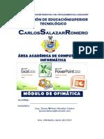 Modulo Ofimatica 2015 II-electronica