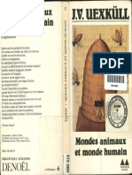 144401498 Jacob Von Uexkull Mondes Animaux Et Monde Humain Bookos Org
