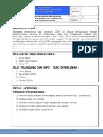 SOP Service Air Compressor OK