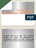 Tradiciones y Costumbres Del Mundo