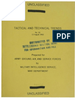 Tactical and Technical Trends No 31-40