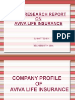 Aviva Life Insurance Presentation New