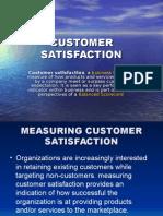 Presentation on Customer Satisfaction