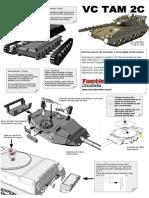 Instruciones de armado kit VC TAM 2C 1/72 Tactical Models