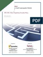 Symantec Enterprise Vault Cryptographic Module