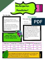 newsletter 7th june