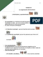 """Unidad 10 """" LA HISTORIA""""  adaptación para 4º de primaria"""