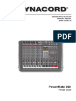 Manual PowerMate-600 2