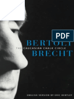 Brecht, Bertolt - Caucasian Chalk Circle (Minnesota, 1999)