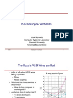 VLSI Scaling for Architects