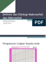 Definisi Dan Etiologi Makrosefali Dan Mikrosefali