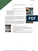Boiler Pressure Parts - Tube Weld Overlay
