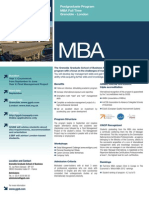 Grenoble - MBA Master Business Administration
