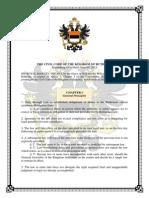 Civil Code of Ruthenia