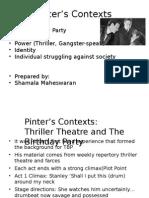 Pinter s Contexts4