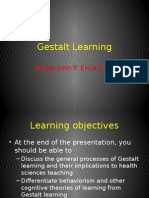 Gestalt Learning