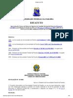 Estatuto da UFPB