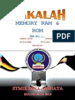 Makalah Memory Ram & Rom