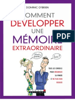 Comment Developper Une Memoire Extraordinaire