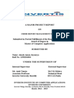 project report on aaj