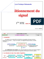 3 Conditionnement Du Signal