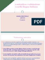 Pedagogia autentica e valutazione educativa nella lingua italiana - Piscitelli