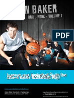 Ganon Baker Basketball Drill Book - Volume 1