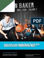 Ganon Baker Basketball Drill Book - Volume 1