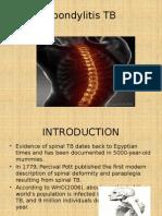 Spondylitis TB Presentasi 2