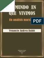 Andreu Baldó, V., El Mundo en Que Vivimos, Libro