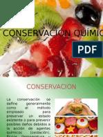 Conservación QuÃ-mica
