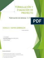 Formulación y Evauación de Proyecto (antenas 2.4 ghz)