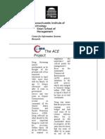 ACE Case Study