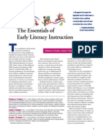 Essentials of Early Literacy Instructions