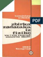 Zbirka Zadataka Iz Fizike (Tomislav Nikolić)