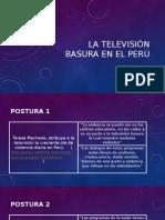La Televisión Basura en El Perú