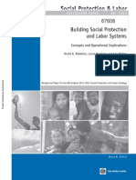 Social Protection Policy.building Social Protection and Labor Systems