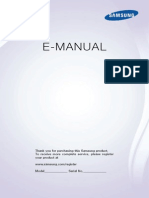 Samsung PS51F5500 Manual