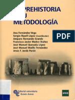 La Prehistoria y Su Metodologia V2010