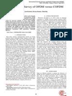 A Study and Survey of OFDM versus COFDM