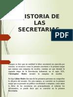 Historia de Las Secretarias