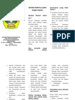 Rumah Sehat Leaflet