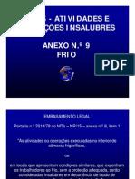 NR 15 - anexo 9 FRIO