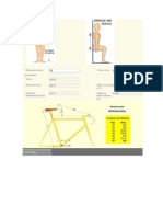 Medidas de Bicicleta