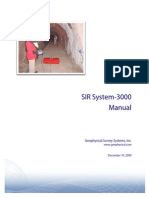 MN72433J1 SIR-3000 Operation Manual