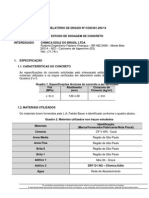 Traço incluso os ensaidos de impermeabilidade  e Pega 281293 - Estudo de Dosagem.pdf