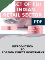 Presentation  ON FDI